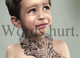 "Words hurt, until they don't. Kids get their value by others' perceptions. Until they [kids or adults] can become self-actualized, gauging their own self-worth, words will continue to hurt. Having compassion and understanding for this Reality is a good step toward helping others heal. ""Get over it"" is not a good step. :)"