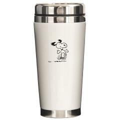 Dancing Dog Ceramic Travel Mug > Dancing Dog > Snoopy Store