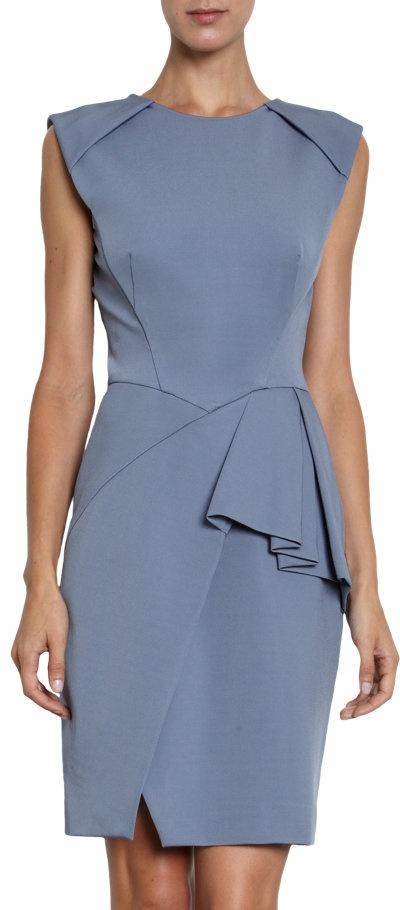 J. Mendel Faux Wrap Dress at Barneys.com