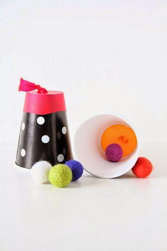 Actividades para Educación Infantil: Manualidades para el verano - 24 Lanzador de algodón