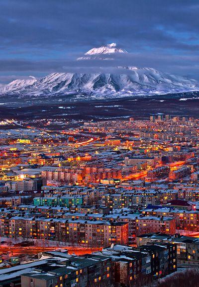 Península de Kamchatka, en Siberia, Rusia.