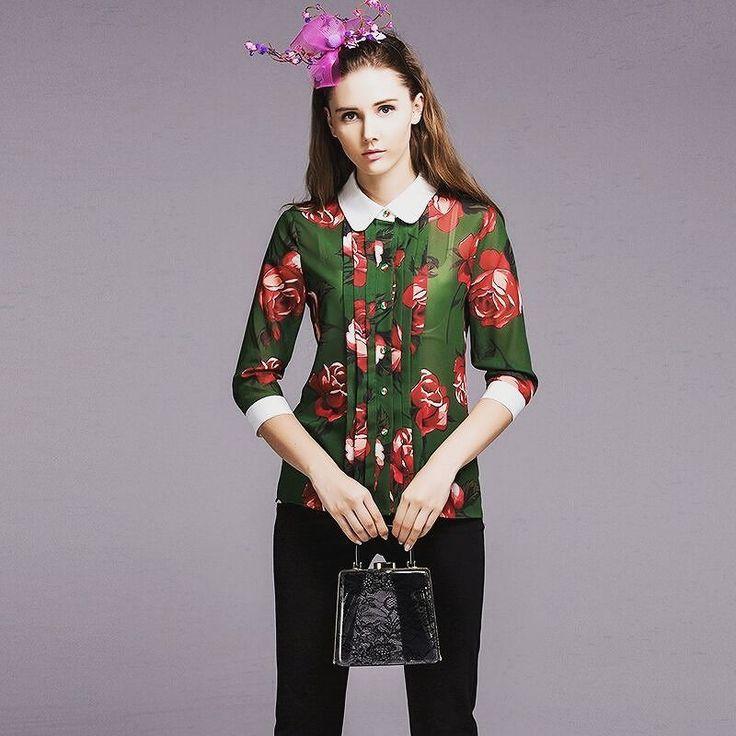 Turn-Down Collar 3/4 Sleeve Shirt. DM to order. #musthave #potd #pictureoftheday #instamode #itpiece #fashionstyle #trendy #polyvore #outfitideas #styleoftheday #styleblogger #stylegram #fashionlook #lookoftheday #saturday #vogue #vegetarian #vegan #luxury #mood #goodvibes #mydubai #shoes #inspiration #annasaccone #eduardojonathan #jofeejokes #jonathanjoly #likethis #likethispic