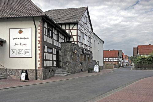 eckartshausen germany | Gasthaus Zur Krone Ronneburg Hüttengesäß © hessenkrone.de ...