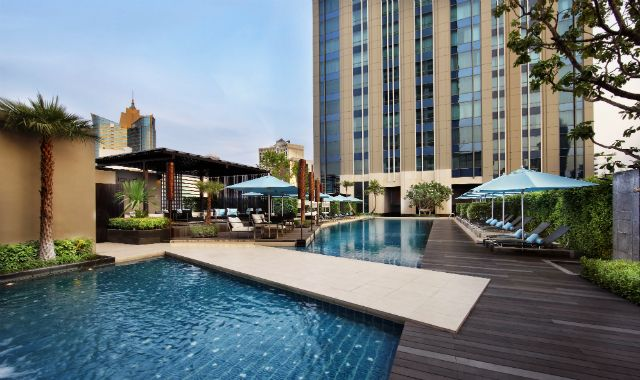 The Sofitel Bangkok Sukhumvit with its 19th century apartment style lounge bar beloved by the Thai capital's hot young things, mixes French elegance with modern style & Thai hospitality.