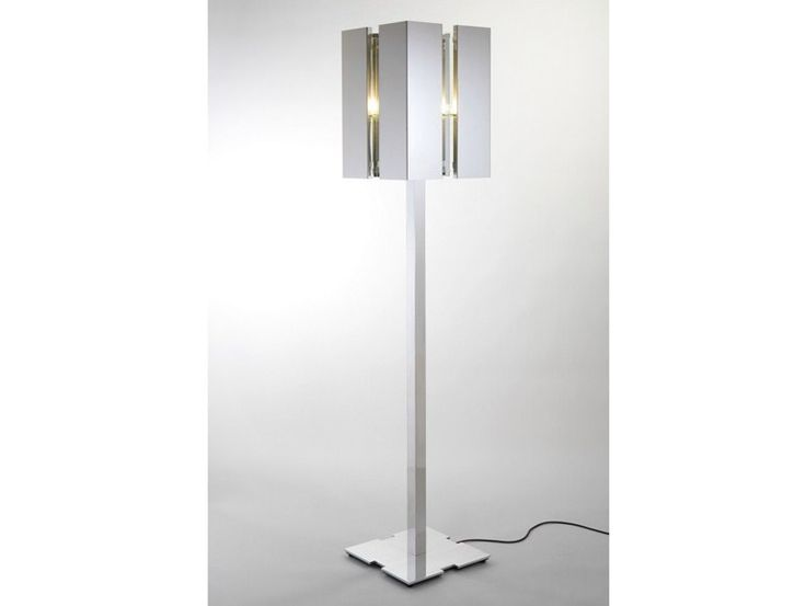 Direct light floor lamp with dimmer QUARTET Quartet Collection by Quasar | design Jan des Bouvrie