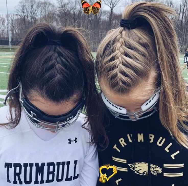 Volleyball Hairstyles Easy Volleyball Hairstyles Easy Hairstyles Volleyball Easy Hairstyles Volleyball In 2020 Volleyball Hairstyles Hair Styles Sporty Hairstyles