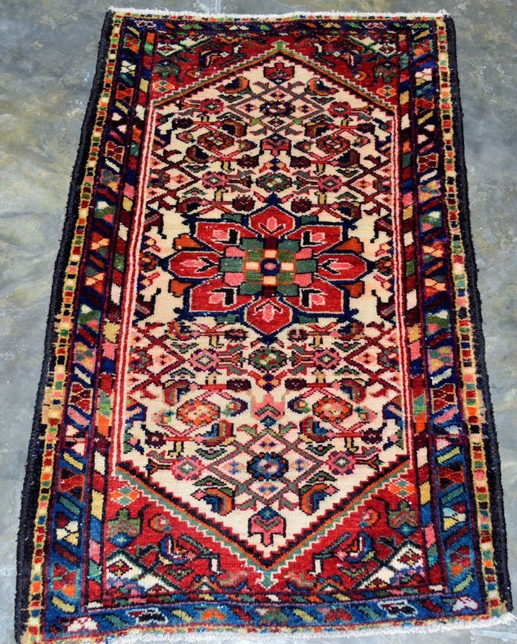 Vintage Persian Shiraz 2 4 Quot X3 10 Quot Handknotted 100 Wool
