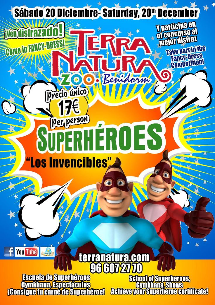 """Te proponemos un plan para este fin de semana del 20 de Diciembre…  Reserva un Bungalow o una Parcela en el Camping y disfruta con tu familia de UNA SUPER FIESTA DE SUPERHÉROES """"LOS INVENCIBLES"""" EN TERRA NATURA  - See more at: http://www.campingcostablanca.com/event/fiesta-de-superheroes-los-invencibles-en-terra-natura/#sthash.hWqWbG20.dpuf"""