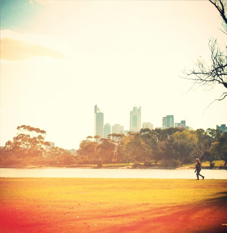 The city, Perth
