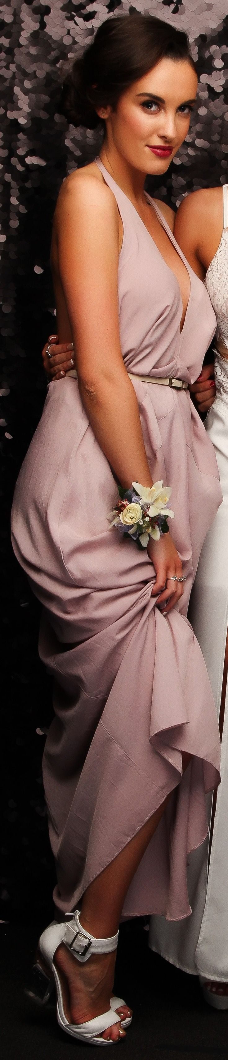 St Kentigern College Ball 2015. Adore this feminine colour! www.whitedoor.co.nz