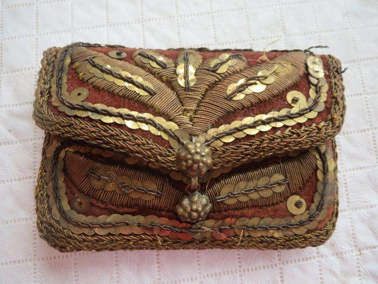antique purse XVIIIe