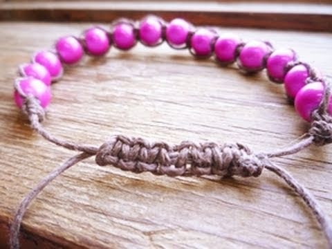 I love these stupid cord bracelets but I find they're so overpriced.  I think I'll make my own...one day.