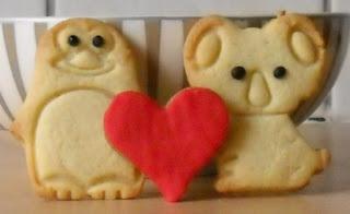 Kookstel: Berenliefde- Valentijnskoekjes