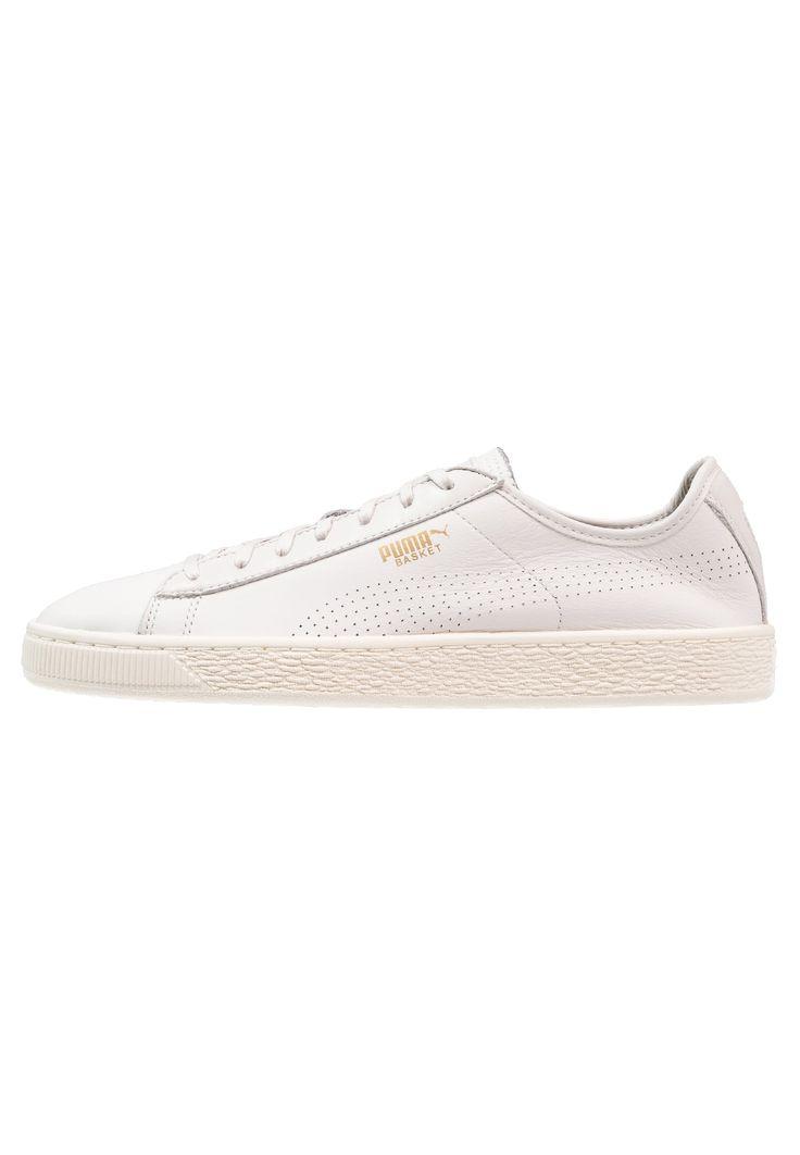 Puma BASKET CLASSIC SOFT - Baskets basses - white/whisper white - ZALANDO.FR