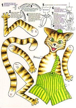 Postkarte A4, Hampelfindus