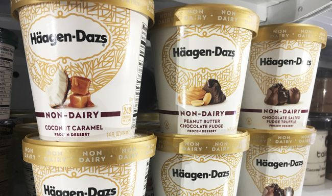 Non-dairy caramel, coconut, peanut butter, and fudge flavors have been spotted at Targets across the country.