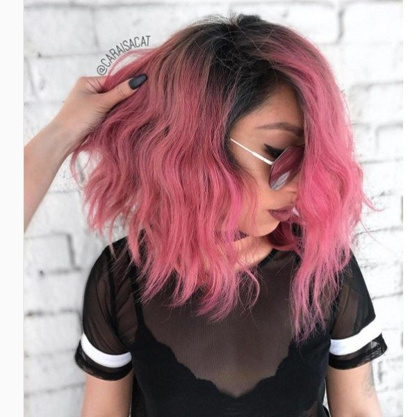 Fashion Colors Shadow Roots Behindthechair Com Short Hair Styles Easy Thick Hair Styles Short Hair Balayage