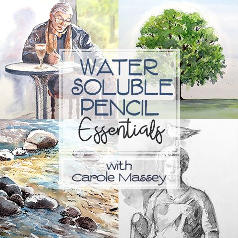 This course will teach you the fundamental techniques for using water soluble pencils You'll learn how to use the pencils both dry and with water and how combining the two textures can give you a unique look not achievable with traditional coloured pencils or watercolours alone. If you like the style of watercolours, but find them difficult to control, then water soluble pencils could be the medium for you!
