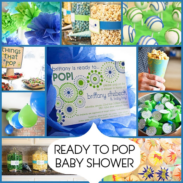 All kinds of baby shower ideas.