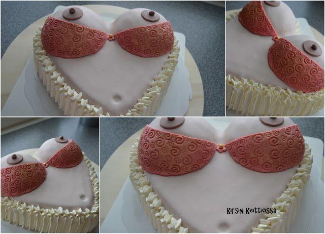 """Kirsin keittiössä: """"K-18 BOOBS-kakku"""""""