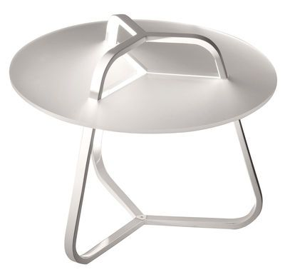 Table d'appoint lumineuse Toy / H 50 cm Blanc - Martinelli Luce - Décoration et mobilier design avec Made in Design