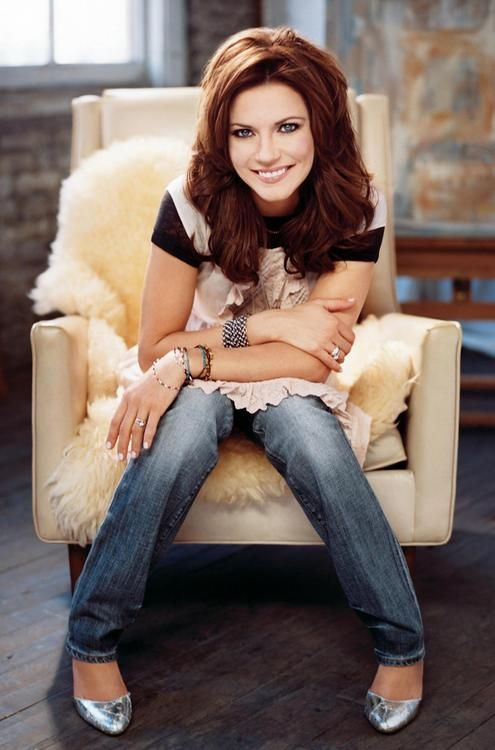Martina McBride // When I was a teenager we had cable and sometimes I'd just watch CMT with all her music videos playing on loop.