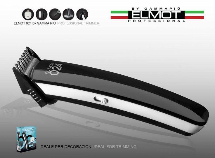 024 Elmot by Gamma Più Hair Clipper