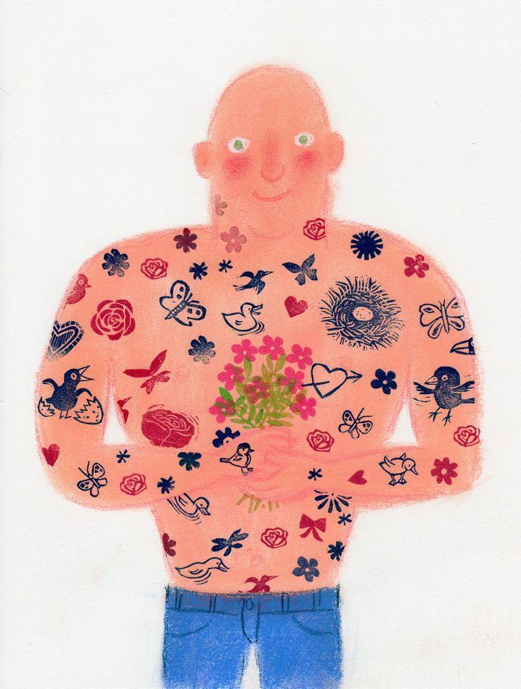 spring tattoo  door gertie jaquet