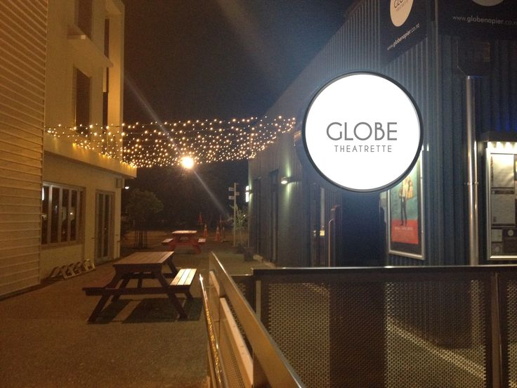 The newest addition to The Globe Theatrette Alleyway between Milk and Honey & Pizza Pazzi - fairy lights!  www.globenapier.co.nz