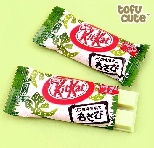 Tamaruya wasabi flavor Kit Kat.