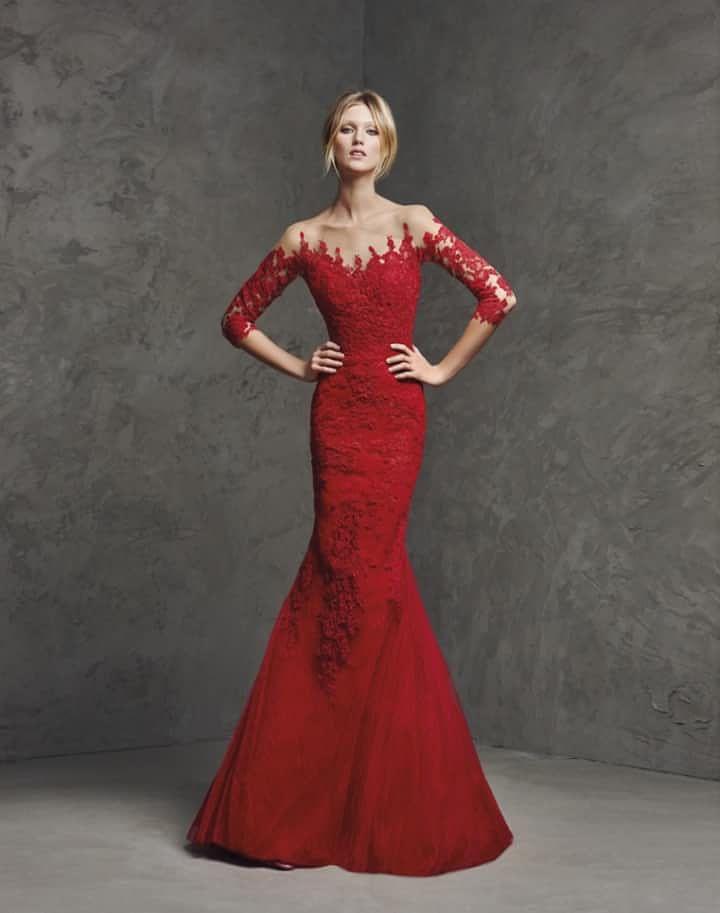 893c33f72 45 vestidos rojos de noche que te hipnotizarán