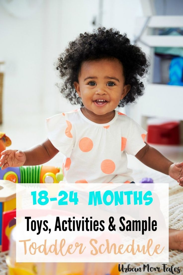 An Essential 18-24 Month Toddler Schedule | // 18 MONTH ...