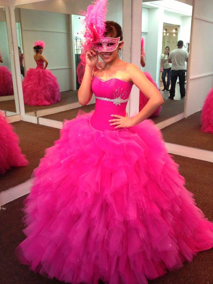 99 best vestidos de 15 images on Pinterest | Birthday party dresses ...