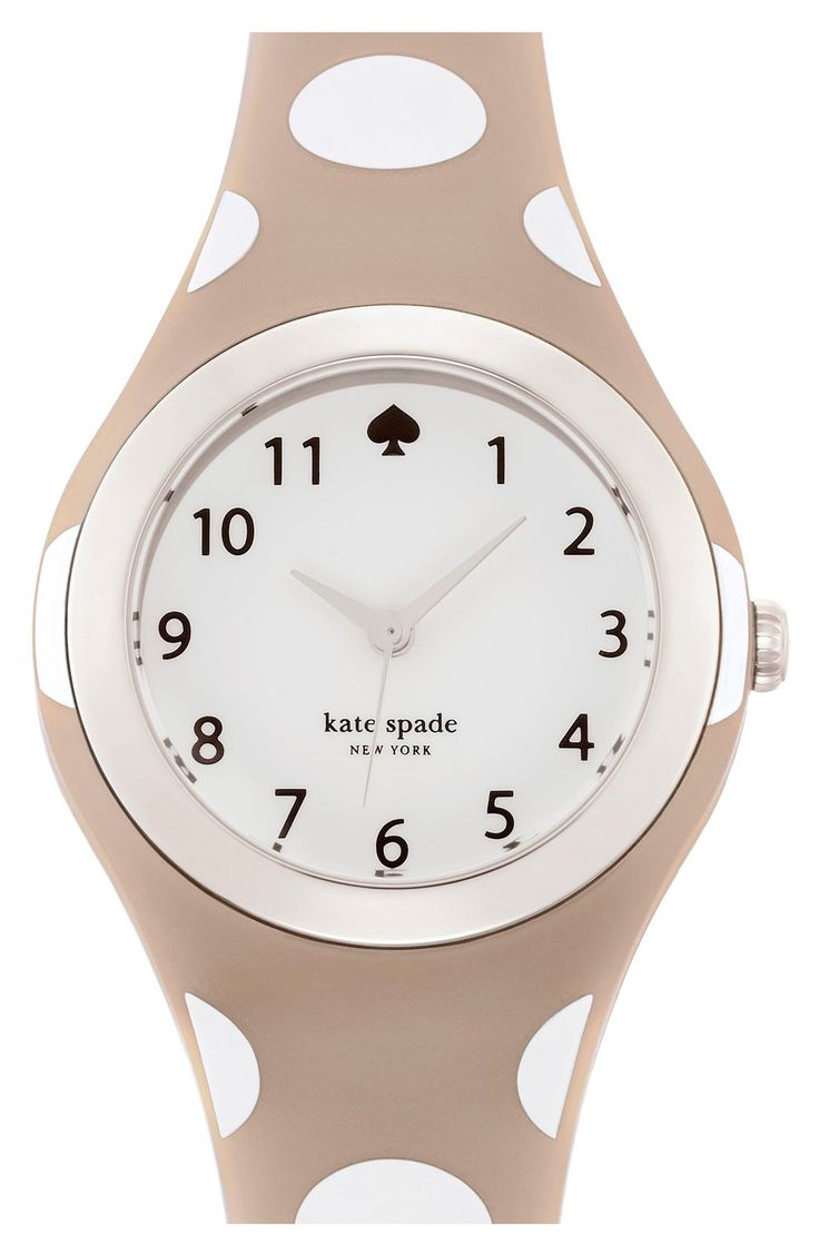 Love the polka dots on this Kate Spade watch.