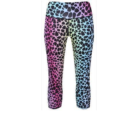 Tikiboo Wild Capri #Activewear #Gymwear #FitnessLeggings #Leggings #Tikiboo #Running #Yoga