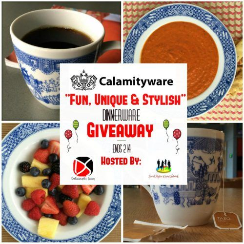 "Calamityware ""Fun, Unique & Stylish"" #Dinnerware #Giveaway #Win #Kitchen #Cooking #Foodie https://www.sweetsouthernsavings.com/calamityware-fun-unique-stylish-dinnerware-giveaway/"