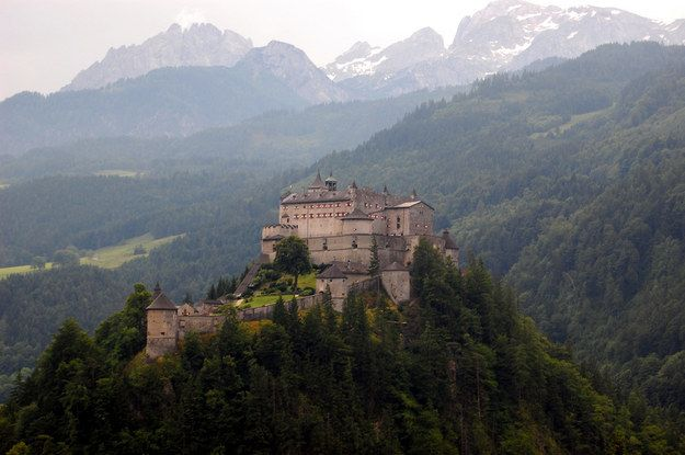 Hohenwerfen Castle, Austria | 17 Stunning Castles That Look Like Hogwarts IRL