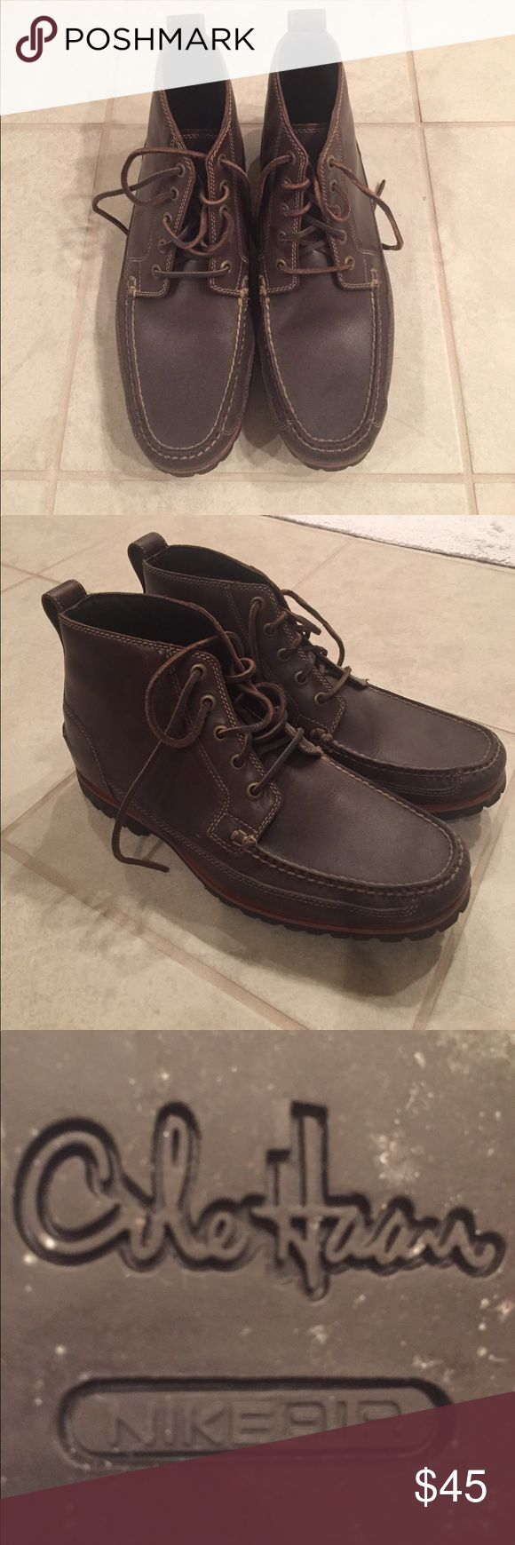 Men's Cole Haan Boots with Nike Air Technology Men's Cole Haan Boots with Nike Air Technology - worn only a few times - excellent condition- size 11 Cole Haan Shoes Boots