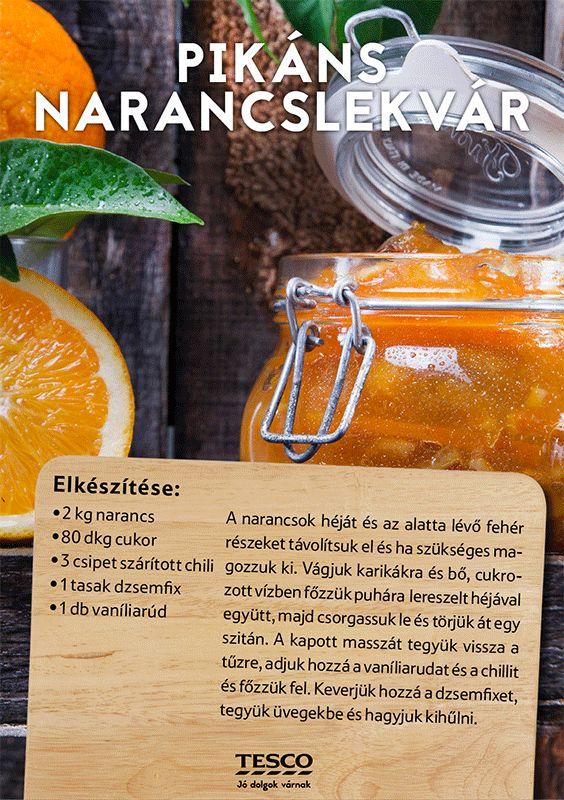 Készíts narancsból lekvárt! ;) #narancs #lekvar #narancslekvar #tesco #tescomagyarorszag