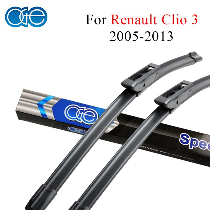 Oge Windshield Wiper Blades For Renault Clio 3 III 2005-2013 Pair 24''+16'' Windscreen Silicone Rubber Auto Car Accessories #Affiliate