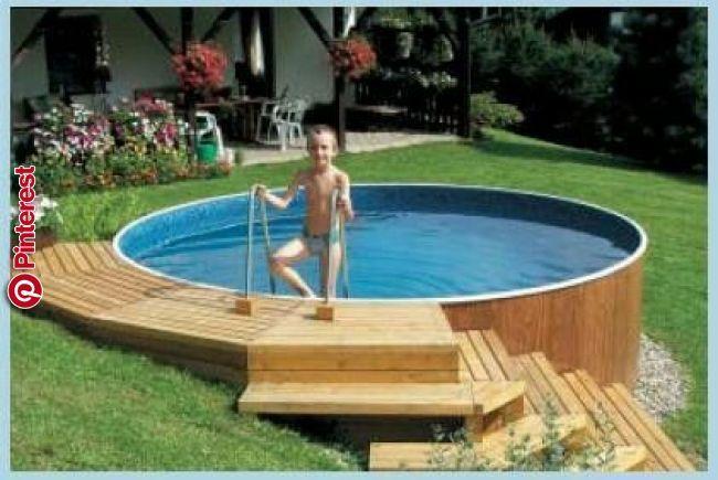 Pin By Lenka On Bazen In 2019 Pinterest Pool Designs Pool Decks And Swimming Pools Schwimmbaddecks Pool Deck Ideen Schwimmbader Hinterhof