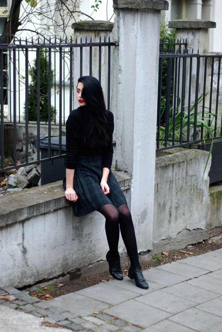 #scottish_skirt #black
