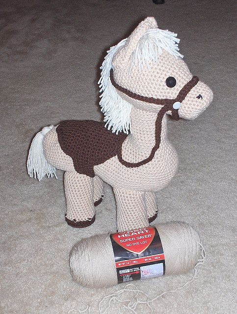 100+ ideas to try about Horses in crochet Rocking horses ...