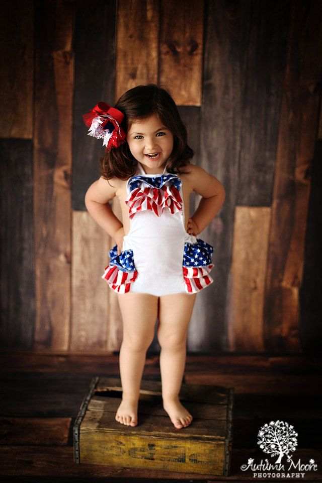 Baby Romper  4th of July Romper  baby 4th of by PoshPeanutKids, $21.00
