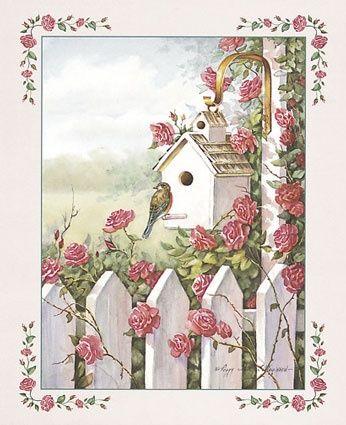 'The Rose Birdhouse'