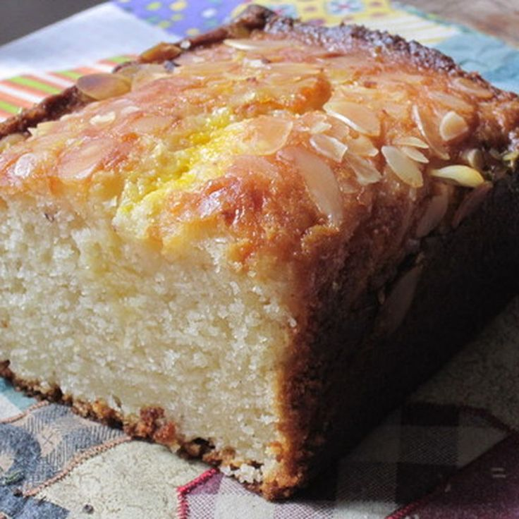 Almond Cake with Orange-Flower Water Syrup recipe on Food52