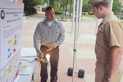 Public Works exhibit teaches others the importance of energy conservation