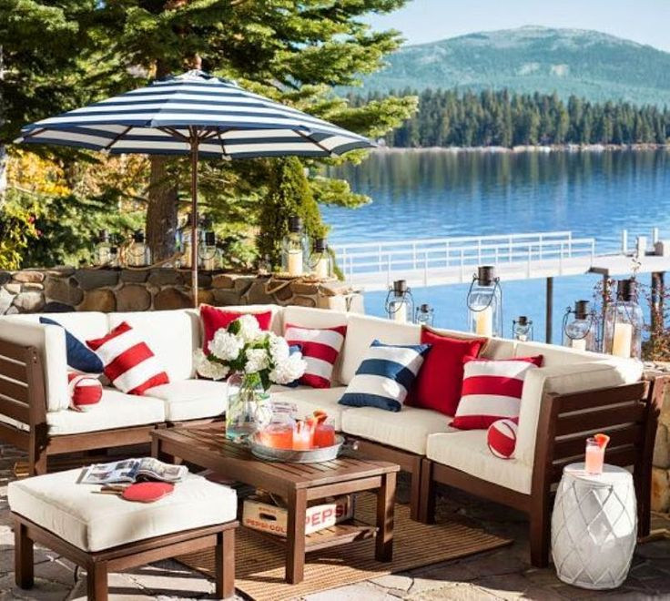 219 best red white and blue decorating images on pinterest | july