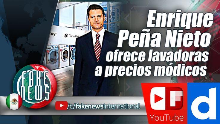 Enrique Peña Nieto ofrece lavadoras a precios módicos