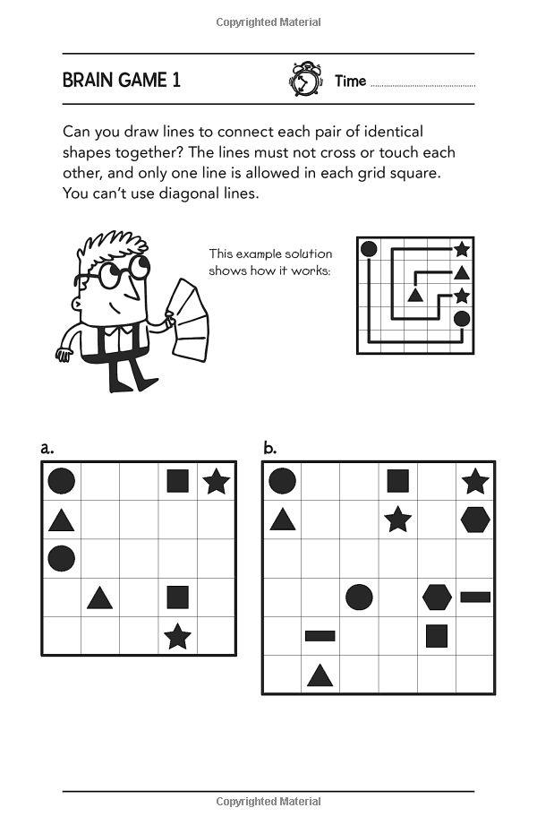 brain games for clever kids gareth moore chris dickason 9781780552491 books. Black Bedroom Furniture Sets. Home Design Ideas